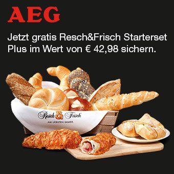 Jetzt gratis Resch&Frisch Starterset Plus im Wert von € 42,98 sichern.