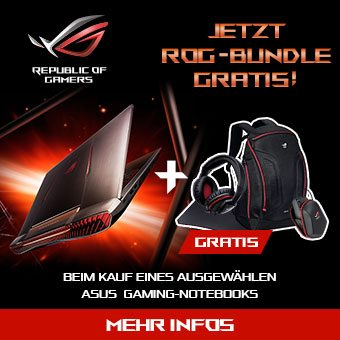 Asus Bundle Aktion