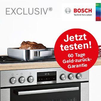 Bosch 60 Tage Geld-zurück-Garantie