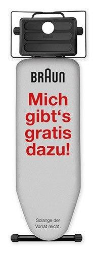 Braun IB3001 Bügelbrett gratis