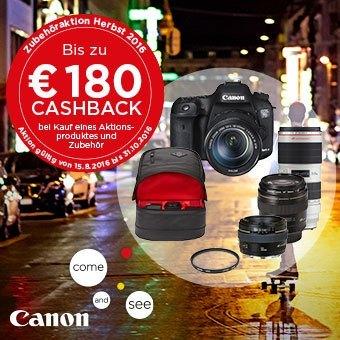 Canon Zubehöraktion Herbst 2016