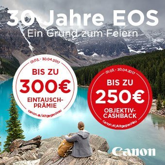 Canon 30 Jahre EOS