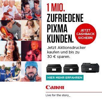 Canon Inkjet Cashback 2018