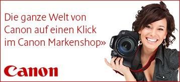 Besuchen Sie den Canon Markenshop