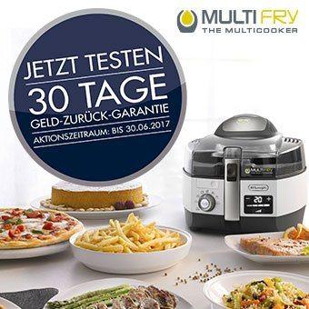 De'Longhi MultiFry 30 TAGE GELD-ZURÜCK-GARANTIE