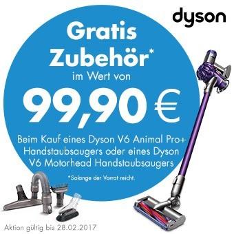 Dyson Zubehör Gratis!
