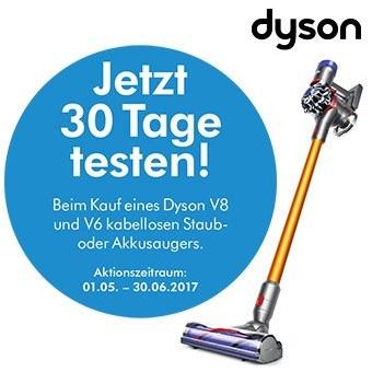 Jetzt 30 Tage testen. Die kabellosen Staubsauger von Dyson.
