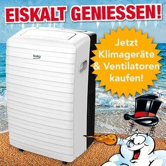 Jetzt Klimageräte & Ventilatoren kaufen