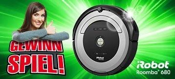 Jetzt einen iRobot Roomba 680 Staubsaugroboter gewinnen