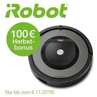iRobot 100€ Herbstbonus