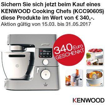 Kenwood Cooking Chef - Zubehör im Wert von € 340,- geschenkt