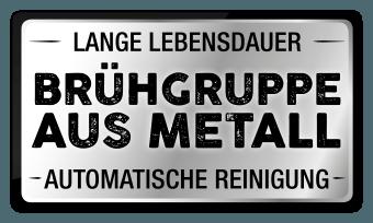Brühgruppe aus Metall