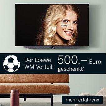 500 Euro Sofortrabatt beim Kauf ausgewählter LOEWE OLED Modelle!