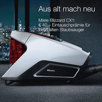 Miele Blizzard CX1 40EUR Eintauschprämie