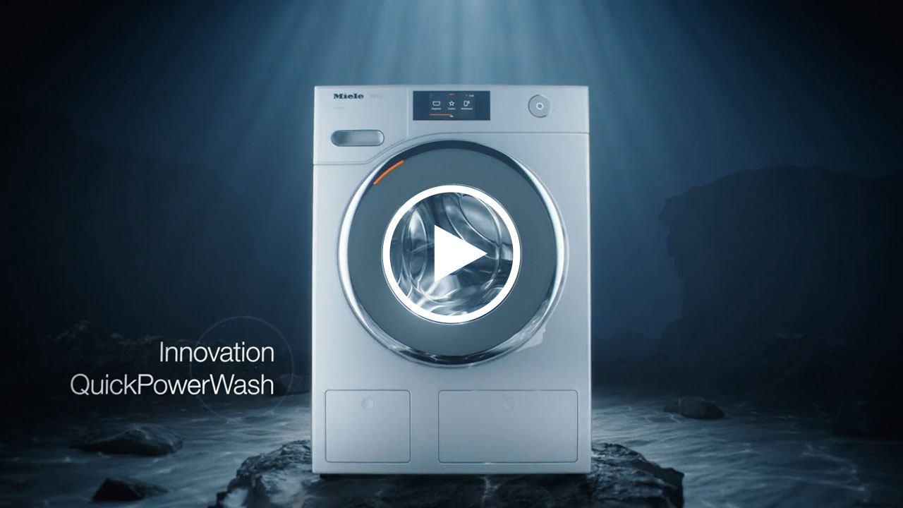 QuickPowerWash - Strahlend saubere Wäsche in unter einer Stunde!