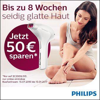 Jetzt 50€ bei Kauf eines Philips Lumea sparen