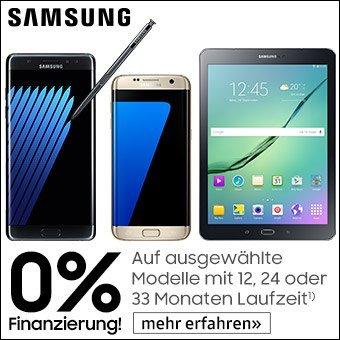 Samsung 0% Finanzierung