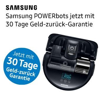 Samsung POWERbots jetzt mit 30 Tage Geld-zurück-Garantie