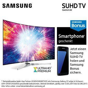 Samsung Bonus - Smartphone geschenkt!