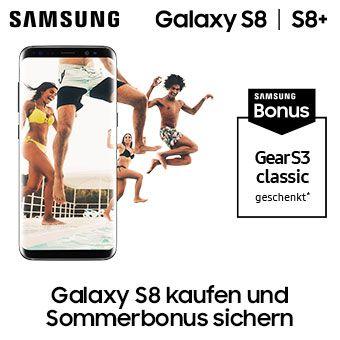 Galaxy S8 kaufen und Sommerbonus sichern