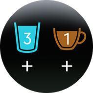 Verfolgen des Wasser- und Kaffeekonsums.