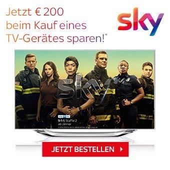 Jetzt bei jedem TV 1 Jahr Sky Entertainment inklusive*