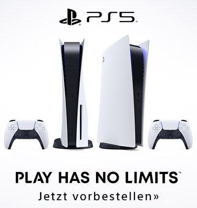 Die neue Sony PlayStation®5 - Jetzt vorbestellen!