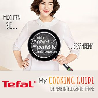 Tefal My Cooking Guide - Die neue intelligente Pfanne