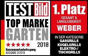 Weber Testbild Topmarke 2018