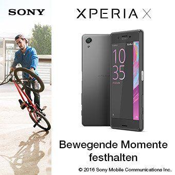 Xperia™ X Serie - Bewegende Momente festhalten