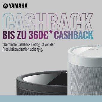 Yamaha - Bis zu 360 € Cashback