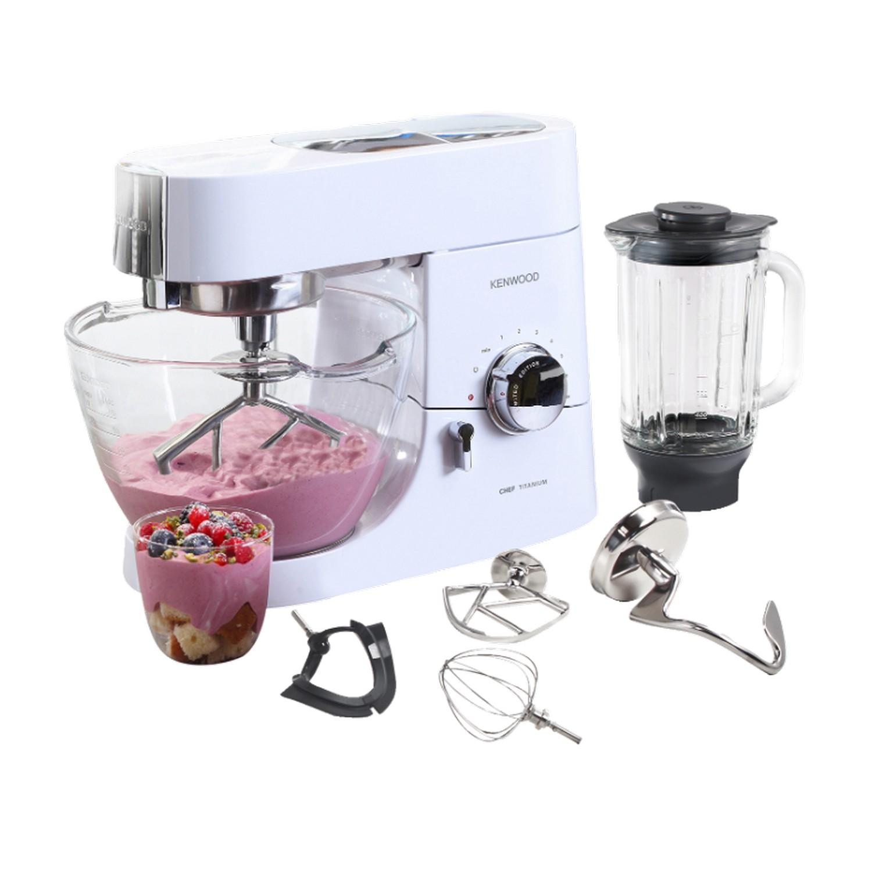 kenwood küchenmaschine mit glasschüssel