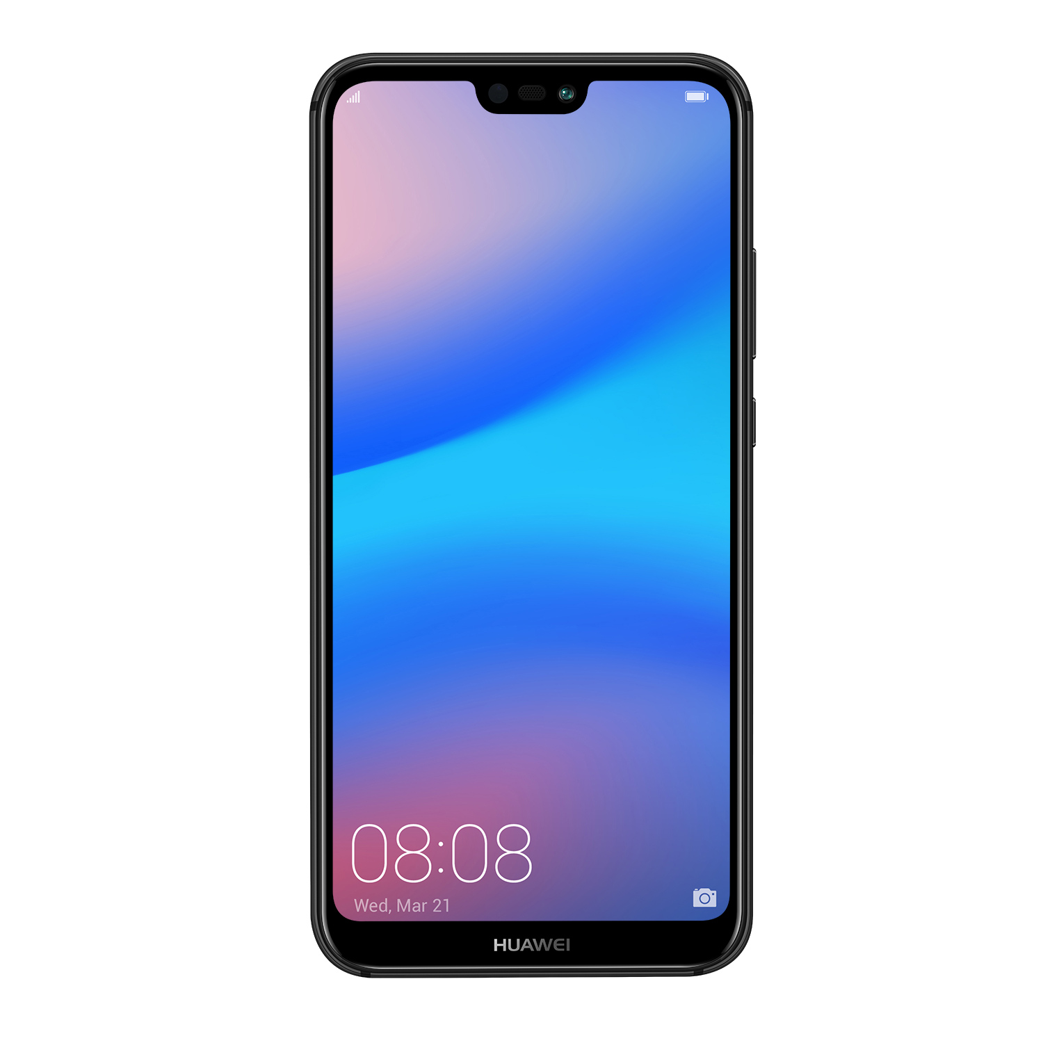 huawei p20 lite black dual sim 64gb electronic4you. Black Bedroom Furniture Sets. Home Design Ideas