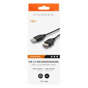 VIVANCO A45227 USB 2.0 komp.Verlängerung