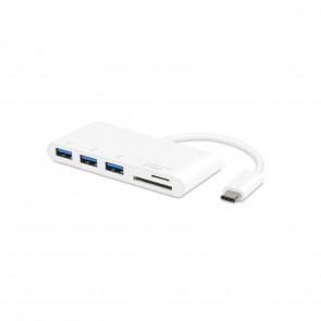 VIVANCO 34295 USBC CR HUB3