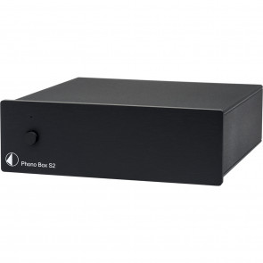 Project Phono Box S2 schwarz