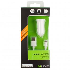 Mline Kfz Lader Apple Lightning 2,1 A