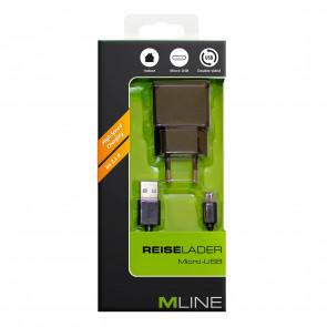 Mline Reiselader inkl. MicroUSB 2,1A