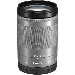 Canon EF-M 18-150mm 3.5-6.3 IS STM silb.