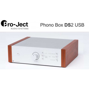 PROJECT PHONO BOX DS2 silver Rosenut