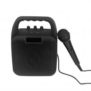 CELLY Bluetooth Karaoke Set schwarz