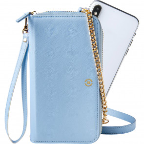 "Celly VERNE CLUTCH bis 6,5"" Blau"