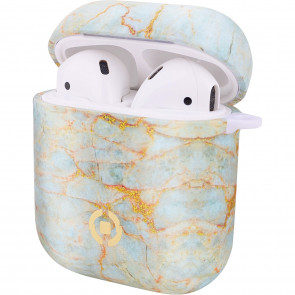 Celly Silikon Case für Airpods marble