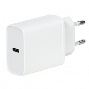VIVANCO USB-C 18W, Ladegerät, weiß