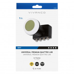 VIVANCO Universal Premium Quattro LNB