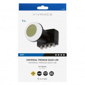 VIVANCO  Premium Quattro LNB inkl. Switc