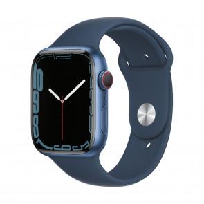 Apple Watch Series 7 LTE 45mm Blau