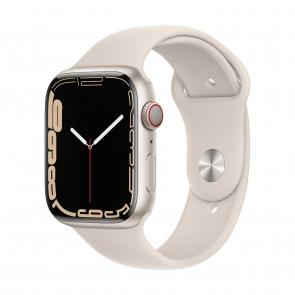 Apple Watch Series 7 LTE 45mm Polarstern