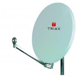 Triax AE 75 S lichtgrau inkl. Single LNB