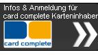 Infos & Anmeldung für card complete Karteninhaber